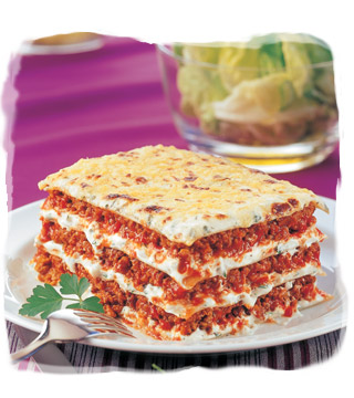 Lasagne bolognese – Makarony Kasi
